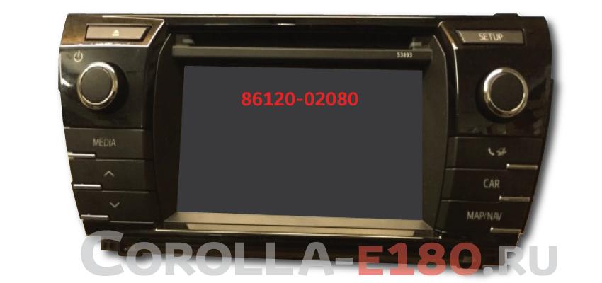 86120-02080 тойота touch 2